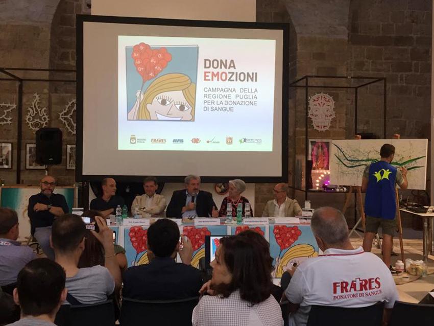 Bari 22 giugno 2019   -  Convegno dibattito sull'importanza del dono