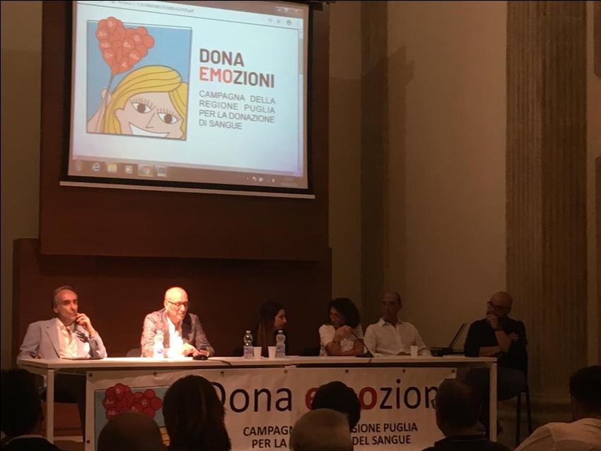 Lecce 29 giugno 2019   -  Convegno dibattito sull'importanza del dono
