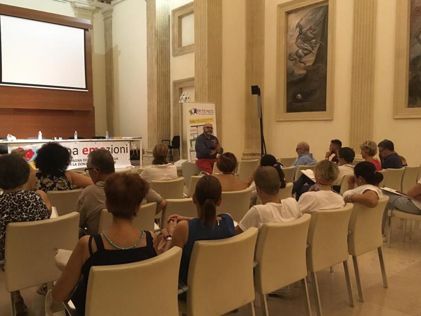 """Lecce 27-29-29 giugno 2019  -   Seminari di studio per la realizzazione del """"Mandala libero come strumento per conoscere se stessi"""" a cura di ARTEMES"""